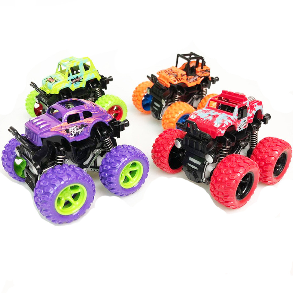 2019 New Year Present For Children Inertia Four-Wheel Drive Off-Road Vehicle Simulation Model Toy Baby Car Model
