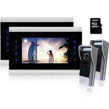 Homefong  10″ Video Door Intercom Door Phone Recording Doorbell Camera Intercom 10Inch 1200TVL HD Monitor Support WITH SD