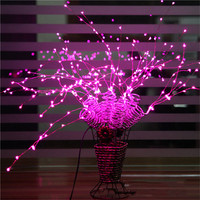 LED String light 198leds 36 Branches indoor outdoor Christmas decoration tree lamp with Base Fairy Romantic light