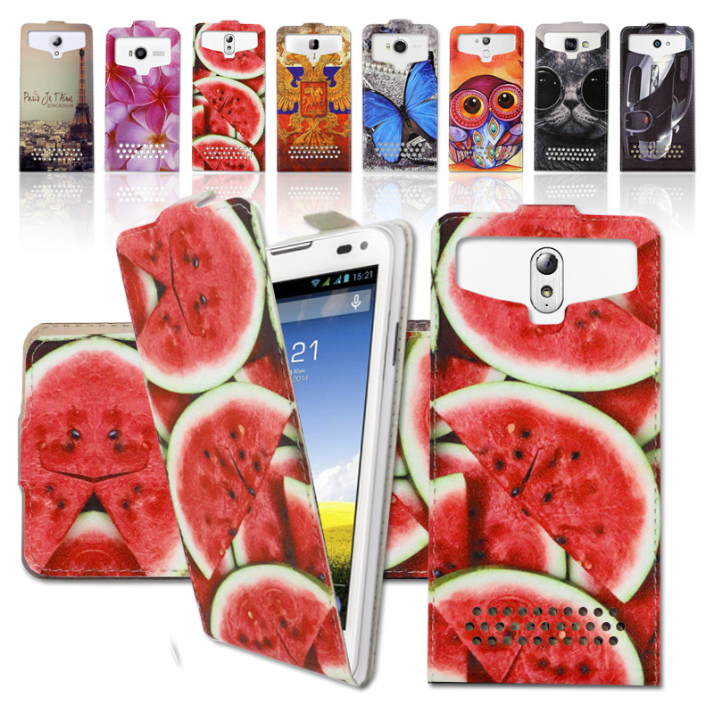 Newest 2016 For Micromax YU Yuphoria Luxury Fashion Printed Ultrathin PU Leather Case Best Universal Flip case cover,Gift