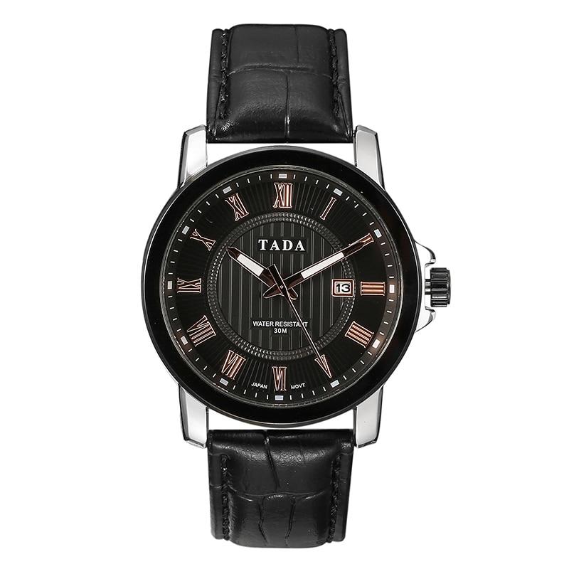 Japan Movement 3ATM Wateproof Top Luxe Merk TADA Horloges Heren Hot - Herenhorloges - Foto 2