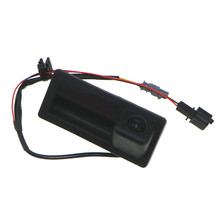 HONGGE 12V RGB Rear View Camera For VW Tiguan A4 A5 A6 A7 Q5 S6 VW RNS310 RCD510 RNS510 5ND 827 566 C 5N0827566C 5ND 827 566C