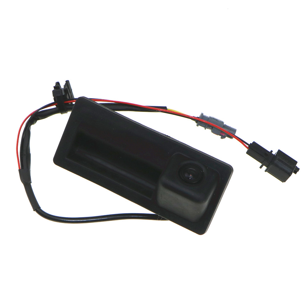 NEW 12V RGB Rear View Camera For VW Tiguan A4 A5 A6 A7 Q5 S6 VW RNS310 RCD510 RNS510 5ND 827 566 C 5N0827566C 5ND 827 566C tuke rns310 rns315 rcd510 rns510 oem vw tiguan connect the electric wire reversing camera module