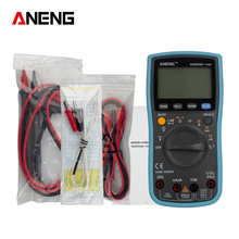 AN860B+ TRMS Automatic Range Digital LCD Multimeter Current with Multi-function Test Leads Cable and Intelligent Explosion Proof