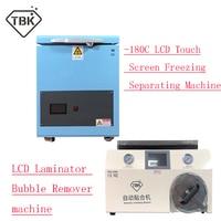 220V TBK 180C LCD Touch Screen Freezing Separating Machine Automatic Bubble Removing Machine OCA Vacuum Laminating Machine