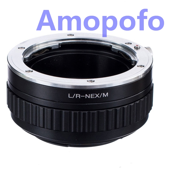 Amopofo LR-NEX/M Adapter for Leica R Lens Mount Lens to SonyE Mount - Camera and Photo