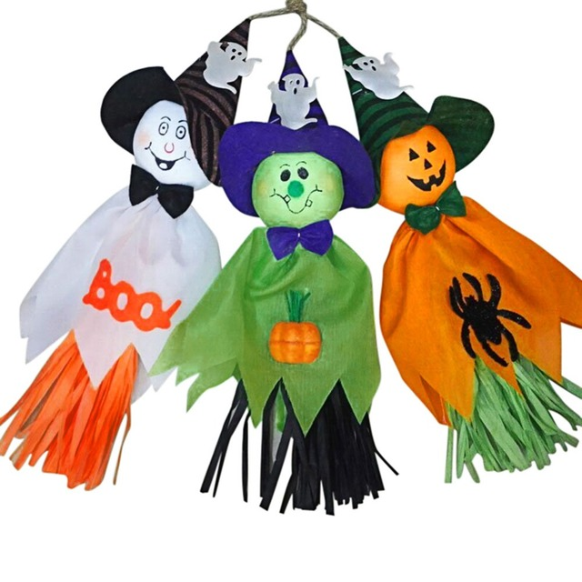 Some Halloween Thoughts About Specter >> 2pcs Halloween Specter Ghost Pumpkin Charm Pendant Hotel