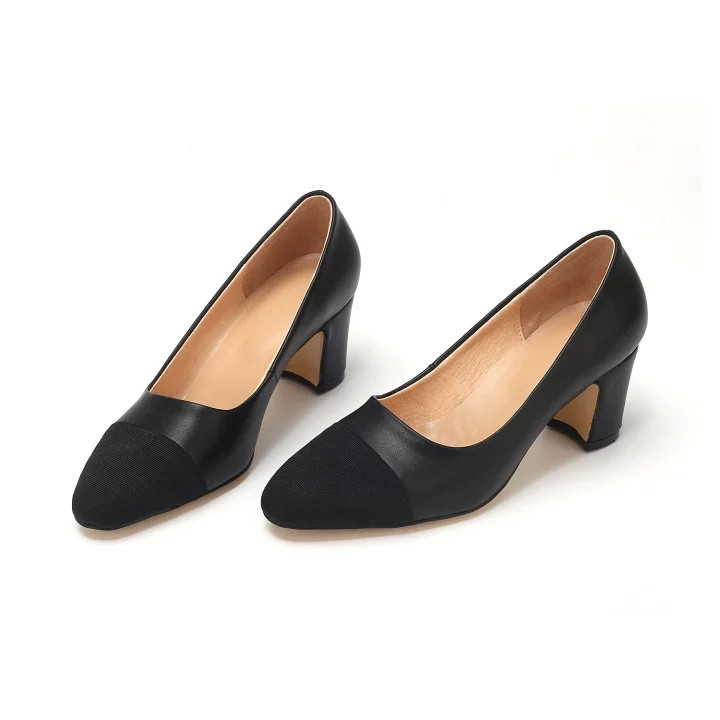 ФОТО 2016 Women Pumps Low Heel Suede Inside Cow Genuine Leather CC Brand Office Business Lady Dress Shoes Fashion Top Quality