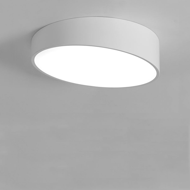 380mm 24w Nordic modern Geometric LED Ceiling Light Personality office living room study Dining room Round Indoor Ceiling Lamp
