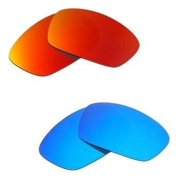 83190268ee 2 pares de gafas de sol Hijinx polarizadas lentes de repuesto rojo y azul  de HKUCO