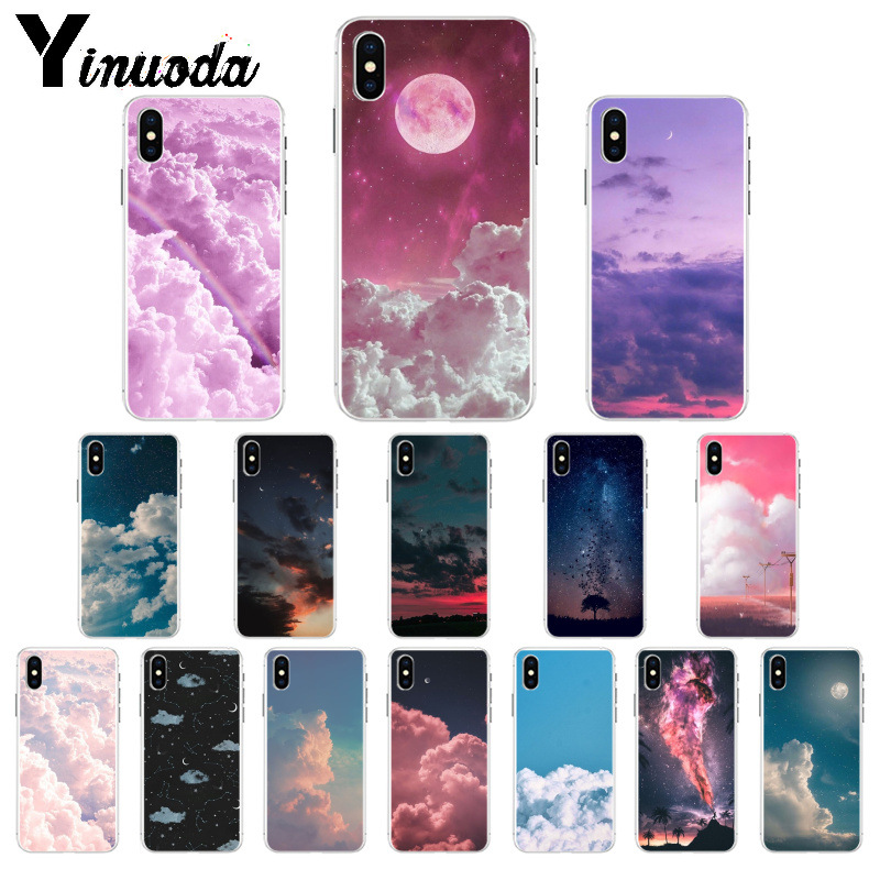 Orderly Yinuoda Moon Star Cloud Night Tpu Soft High Quality Phone Case For Apple Iphone 8 7 6 6s Plus X Xs Max 5 5s Se Xr Mobile Cover Phone Bags & Cases