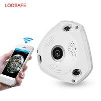 LOOSAFE 3MP CCTV Camera Wi Fi Security Camera Video Door Phone Wireless CCTV Surveillance Camera 360