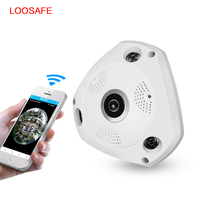 LOOSAFE 3MP CCTV Camera Wi Fi Security Camera Video Door Phone Wireless CCTV Surveillance Camera 360