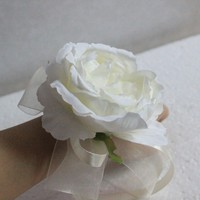 1 pieces Bride Hand flowers Wrist Corsage Bridesmaid Sisters Artificial Bride Flowers For Wedding Party Decoration