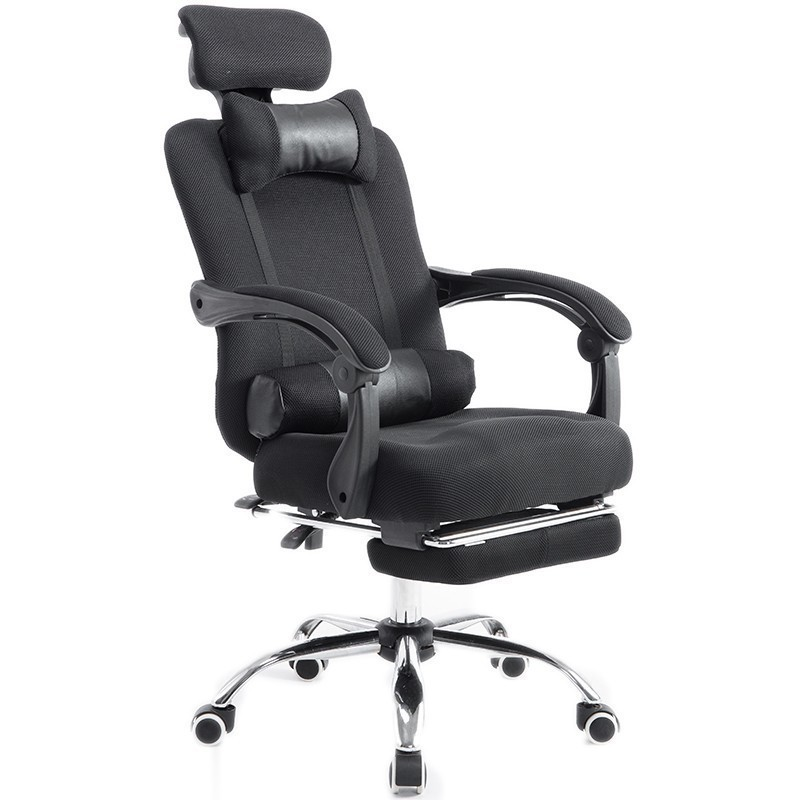 Luxury Quality Boss Live Poltrona Gaming Breathable Cushion Lacework Chair With Footrest Can Lie Ergonomics Office Furniture