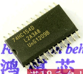 50pcs/lot 74HC154D <font><b>74HC154</b></font> SOP-24 In Stock image