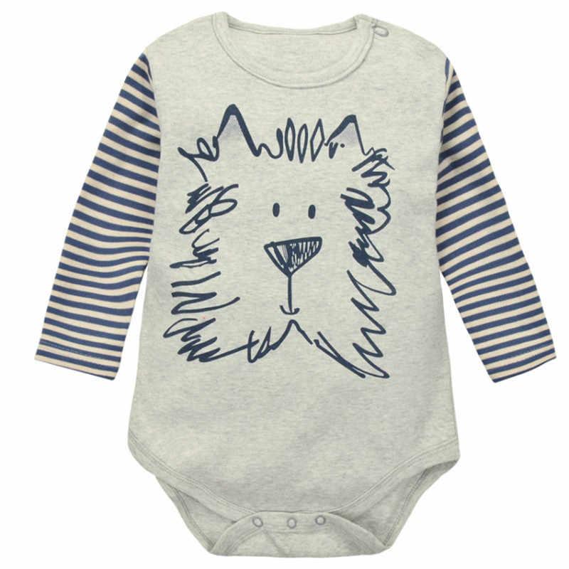 Bebé recién nacido Pantalones de manga larga ropa de bebé niña de algodón mameluco lindo Unisex ropa de bebé niño mono infantil, niños, Niño,