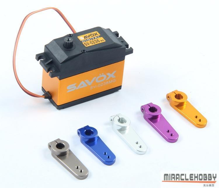 Savox 0236MG metal gear digital servo baja 40kg with CNC metal servo arm 63026 цена