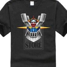 Mazinger Z Anime Old Classic Short Sleeve Gildan Black T Shirt Size M 4Xl