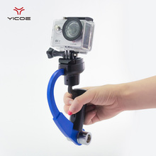 Stabilizer Mini Video Camera Steadicam Hand-held for Go pro Hero GoPro 5 4 3+ SJCAM SJ4000 Xiaomi Yi 4k Action Sport Camera