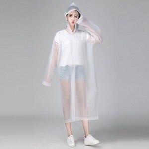 Женский непромокаемый дождевик Keconutbear, прозрачный непромокаемый дождевик из ЭВА