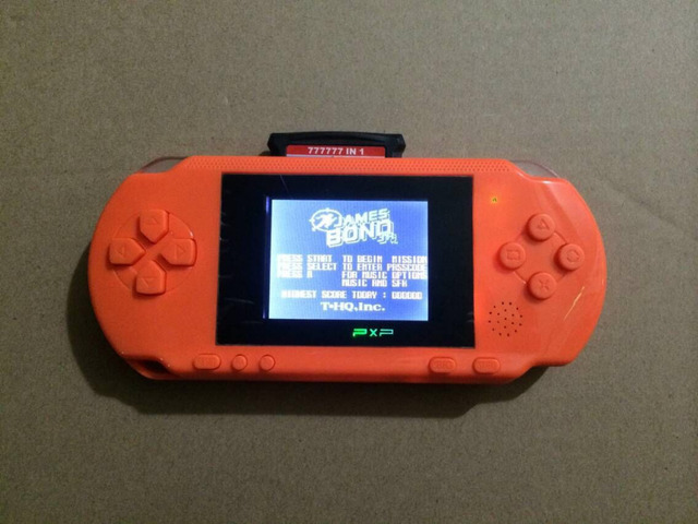 8Bit PXP Video Game Console with 2000+ Games, 2.7'' LCD screen, TV out,