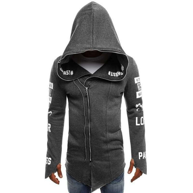 ZOGAA Brand Men Hoodies Zipper Sweatshirts Regular Hooded Coat Men Casual Cotton Outerwear Men Fashions Hoodie Outwear Clothes