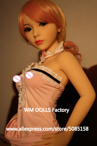 Image 2 - WM DOLLS Top quality 100cm small breasts Anime Silicone Sex Dolls Metal Skeleton full Size Lifelike vagina love dolls for men