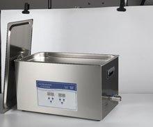 Высокая емкость уборщика цифров PCB 30L ультразвуковая с корзиной SUS