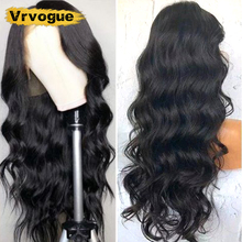 Vrvogue 360 Lace Frontal Wig Pre Plucked With Baby Hair Brazilian Body Wave Remy Human Wigs For Black Women