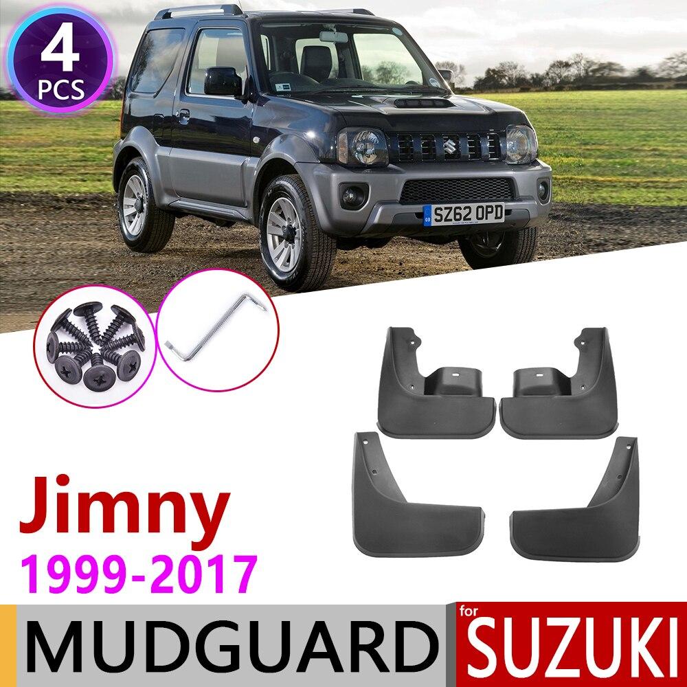 Брызговик для Suzuki jimny JB 1999 ~ 2017 крыло грязи брызговик ЛОСКУТ аксессуары для брызговиков 2000 2001 2003 2004 2005 2006 2007 2008