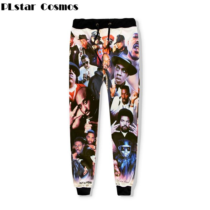 PLstar Cosmos Brand Clothing Sweat Pants Rapper 2pac Tupac 3D Print For Men Women Trousers Thug Life Tupac Shakur Joggers Pants