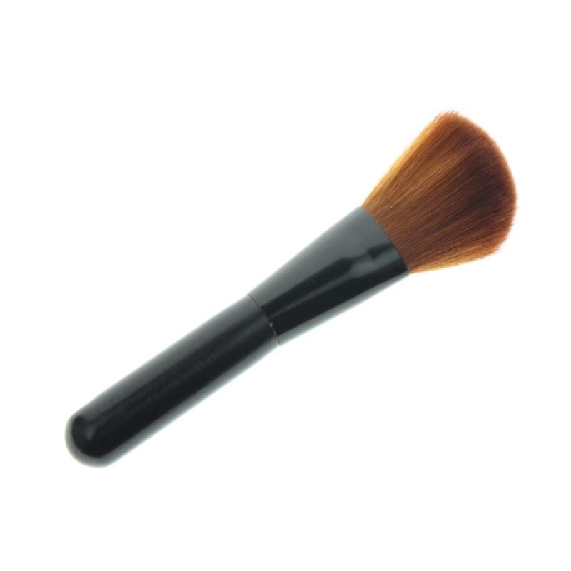 12.5cm Small Mini Best Professional Cheap Slanted Women Girls Face Beauty Makeup Cosmetic Tool Product Maquiagem Blush Brush