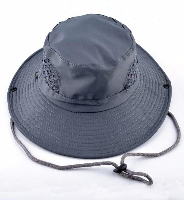 b5b5e795 men's bob summer bucket hats caps hats fishing uv protection cap wide brim fishing  hats