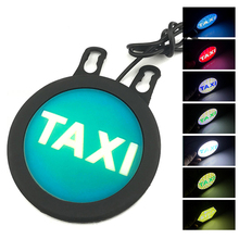 Car Circle TAXI Daytime Running Light Silicone DRL Angel Eyes 12V COB LED Waterproof Automobile Day Styling