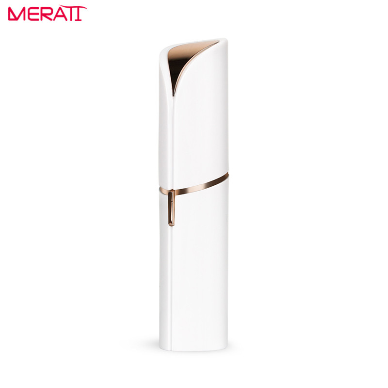 Mini Epilator Hair Remover Razor Body Face Electric Hair Removal Painless Lipstick Shaving Tool Women body massage foot cutin file grinding massage hair shaving removal razor face whitening cleaser device 5 in 1 multi function
