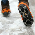 2x Anti slip chuteiras Ice cadeia de Spike Sharp neve sapato bota Tread Grips Traction Crampon andar Walker