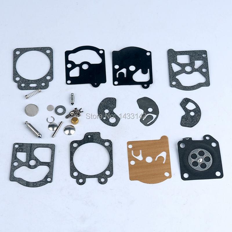 Carburetor Carb Rebuild Kit Diaphragm Gasket for Walbro K10-wat WA WT Series Carby Trimmer Edger Blower Chainsaw 2016 new carburetor carb rebuild repair kit k10 wyb for srm 260 srm 261 trimmer replacement k20 wyj type