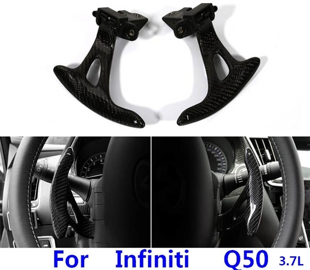 Array - replacement parts for infiniti q50 3 7l steering wheel carbon fiber      rh   aliexpress com