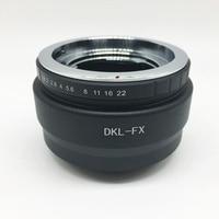 Deckel DKL кольцо-адаптер для объектива камеры для Fujifilm Fuji FX X-E2/X-E1/X-Pro1/X-M1/X-A2/X-A1/X-T1 xpro2 камера 2 заказы