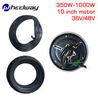 10 inch 36V48V350W-1000W TX motor electric scooter motor parts vacuum tire modified wheel brushless motor set