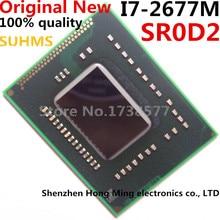 100% New I7 2677M SR0D2 I7 2677M BGA Chipset