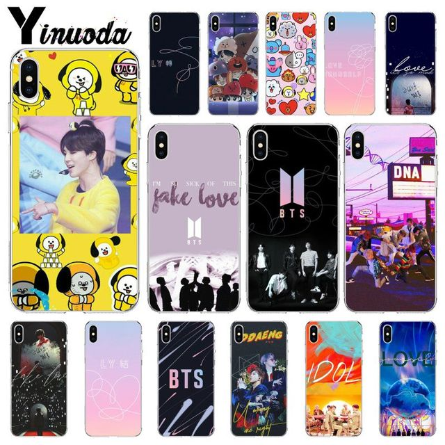 US $0 51 53% OFF|Yinuoda BTS Yourself Fake Love Bangtan Boys TPU Soft  Silicone Phone Case Cover for iPhone 8 7 6 6S Plus 5 5S SE XR X XS MAX-in