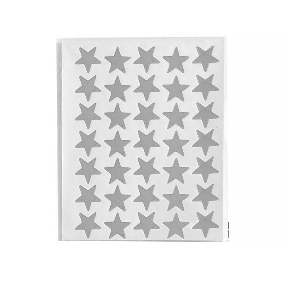 10 Sheets/pack Star Teacher Reward Tag For Kids Students School Sticker Stationery Gold/silver Color
