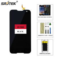 Srjtek 100 New For Blackview BV5000 LCD Display Touch Screen Digitizer 1280X720 5 0inch Assembly Free