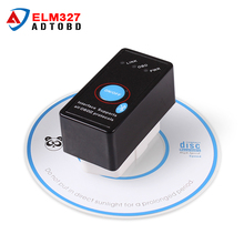 New Arrival Super Mini elm327 V1.5 bluetooth With Switch OBD2 CAN-BUS diagnostic-tool Works on Android Symbian Windows Free Ship
