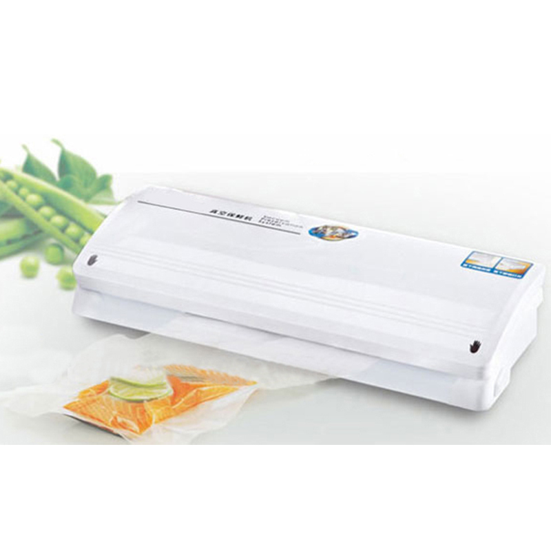 Free Shipping TV Home Electric Vacuum Heat Sealing Machine Household Food Packing Saver Food Vacuum Sealer