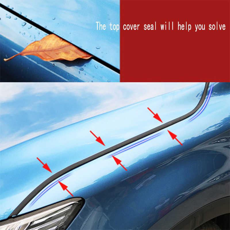 150cm 자동차 스티커 엔진 후드 방음 씰링 스트립 아우디 A4 B7 B5 A6 C6 Q5 Q7 TT 혼다 시빅 2006-2011 Fit Accord CRV