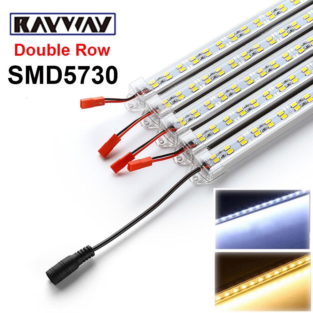 Pcs Smd Led Bar Light 12 Volt Led Strip Lights Simple: RAYWAY 5pcs*50cm DC12V 72leds Double Row 5630/5730 SMD
