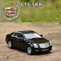 1:32 Cadillac SRX-CTS Modelo De Aleación De Coche Sedán de Lujo Excelente Regalo de Alta Simulación Modelo Exquisito diseño de Coches de Juguete
